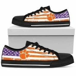 NCAA Clemson Tigers Low Top Shoes