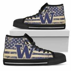 NCAA Washington Huskies High Top Shoes