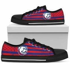 NCAA Louisiana Tech Bulldogs Low Top Shoes