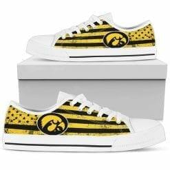 NCAA Iowa Hawkeyes Low Top Shoes