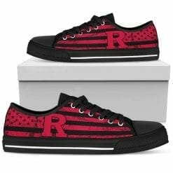 NCAA Rutgers Scarlet Knights Low Top Shoes