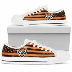 NCAA Idaho State Bengals Low Top Shoes