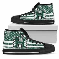 NCAA Hawaii Rainbow Warriors High Top Shoes