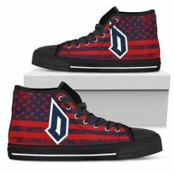 NCAA Duquesne Dukes High Top Shoes