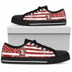 NCAA South Dakota Coyotes Low Top Shoes