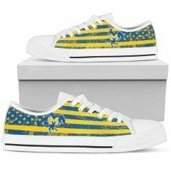 NCAA McNeese State Cowboys Low Top Shoes
