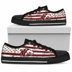 NCAA Southern Illinois Salukis Low Top Shoes