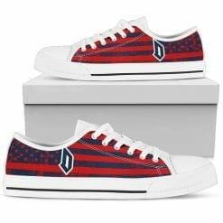 NCAA Duquesne Dukes Low Top Shoes
