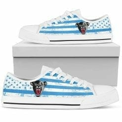 NCAA Maine Black Bears Low Top Shoes