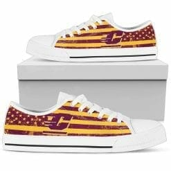 NCAA Central Michigan Chippewas Low Top Shoes