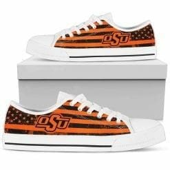 NCAA Oklahoma State Cowboys Low Top Shoes