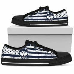 NCAA Connecticut Huskies Low Top Shoes