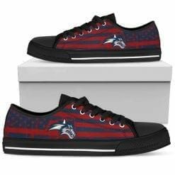 NCAA Stony Brook Seawolves Low Top Shoes
