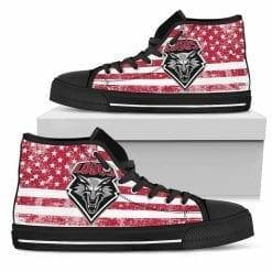 NCAA New Mexico Lobos High Top Shoes