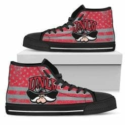 NCAA UNLV Rebels High Top Shoes