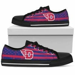 NCAA Dayton Flyers Low Top Shoes