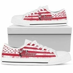 NCAA Marist Red Foxes Low Top Shoes