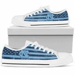 NCAA North Carolina Tar Heels Low Top Shoes