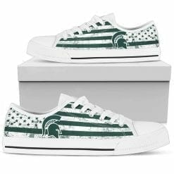 NCAA Michigan State Spartans Low Top Shoes