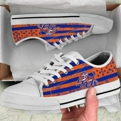 NCAA Savannah State Tigers Low Top Shoes