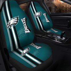 NFL Philadelphia Eagles Pair of Car Seat Covers