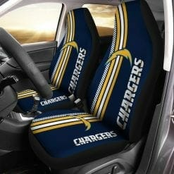 NFL Los Angeles Chargers Pair of Car Seat Covers