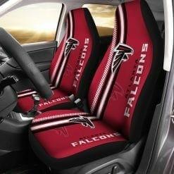 NFL Atlanta Falcons Pair of Car Seat Covers