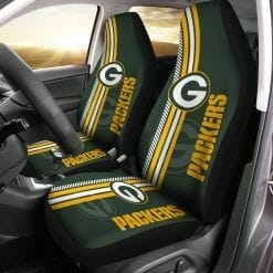 NFL Green Bay Packers Pair of Car Seat Covers