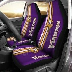 NFL Minnesota Vikings Pair of Car Seat Covers