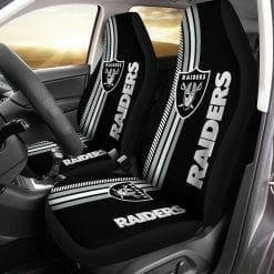 NFL Oakland Raiders Pair of Car Seat Covers