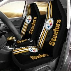 NFL Pittsburgh Steelers Pair of Car Seat Covers