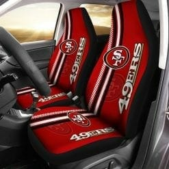 NFL San Francisco 49ers Pair of Car Seat Covers