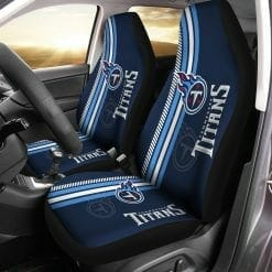 NFL Tennessee Titans Pair of Car Seat Covers
