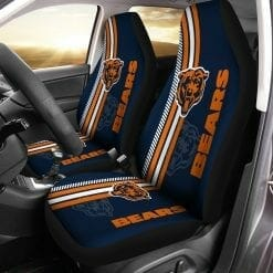 NFL Chicago Bears Pair of Car Seat Covers