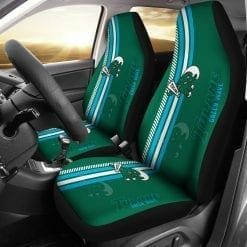 NCAA Tulane Green Wave Pair of Car Seat Covers