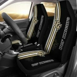 NCAA UCF Knights Pair of Car Seat Covers