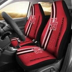 NCAA Houston Cougars Pair of Car Seat Covers