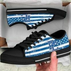 NCAA Presbyterian Blue Hose Low Top Shoes