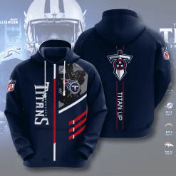 NFL Tennessee Titans 3D Hoodie V1