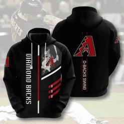 MLB Arizona Diamondbacks 3D Hoodie V1