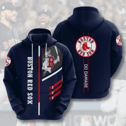 MLB Boston Red Sox 3D Hoodie V1