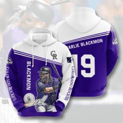 MLB Colorado Rockies 3D Hoodie V1