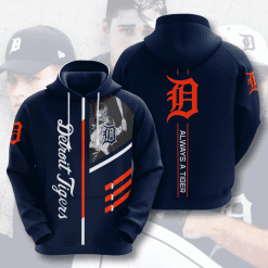 MLB Detroit Tigers 3D Hoodie V1