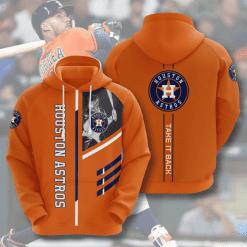 MLB Houston Astros 3D Hoodie V1