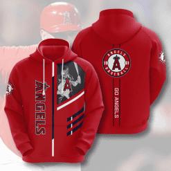 MLB Los Angeles Angels 3D Hoodie V1