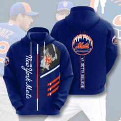 MLB New York Mets 3D Hoodie V1