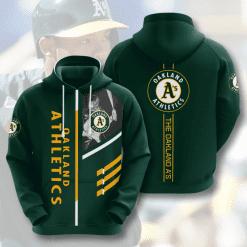 MLB Oakland Athletics 3D Hoodie V1