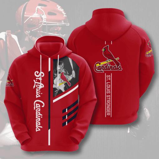 MLB St. Louis Cardinals 3D Hoodie V1