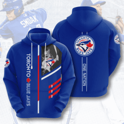 MLB Toronto Blue Jays 3D Hoodie V1