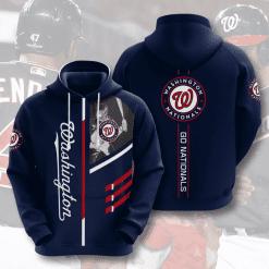 MLB Washington Nationals 3D Hoodie V1